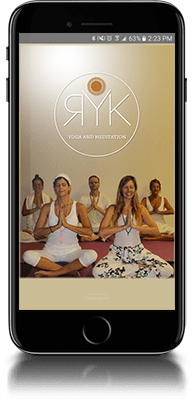 Mobile application from RYK Yoga and Meditation Center