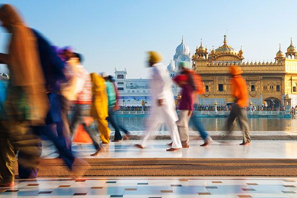 Yoga Retreat India - amristar golden temple