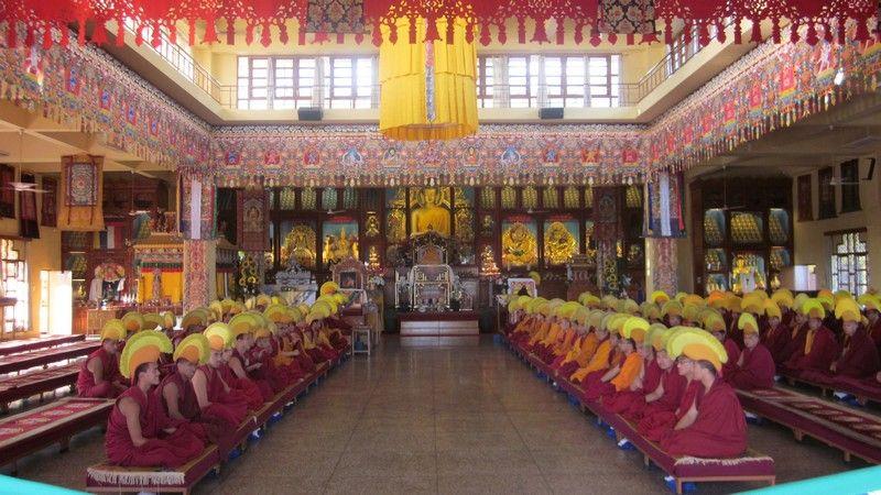 Namgyal Monastery Dalai Lamas Temple India