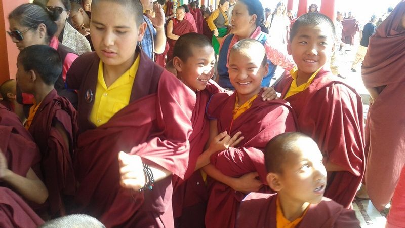 While visiting the Tashi Jong Monastery I had the privilege to see and be blessed by the Togdens – highly realized Tibetan yogis.