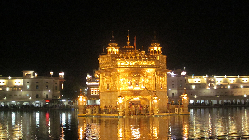 Sanctum Sanctorum - the Golden Temple