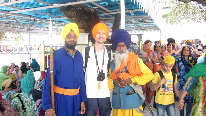 Cosmin Mahadev Singh traveling to India for a Spiritual Journey to the land of yoga and meditation