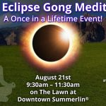 Solar Eclipse Gong Meditation - A Once in a Lifetime Event!